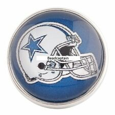 Snaps Magnolia Vine Jewelry 18mm Button Fits Ginger Snap Dallas Cowboys Ginger