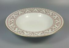 ROYAL CROWN DERBY BRITTANY A1229 RIMMED BOWL / SOUP PLATE 21.8CM