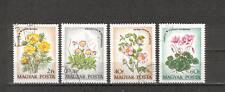 New listing Mtc0350 Hungary 1973 4v plants flowers