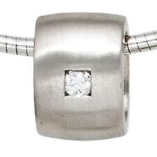 Brillantschliff Echtschmuck aus Sterlingsilber mit Diamant