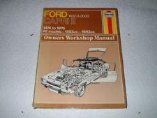 FORD CAPRI SERIES 2. 1600 & 2000 HAYNES WORKSHOP MANUAL. 1974-1976.
