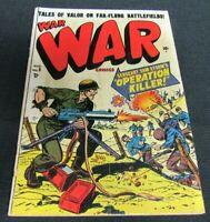 War Comics #5 (1951) Golden Age Atlas Pre-Code JM82