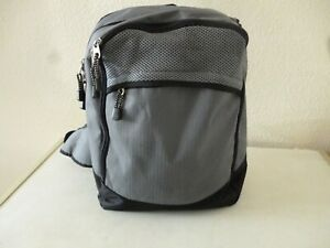 Pocket Backpack Grey Rucksack Sports Bag Gymbag Kitbag