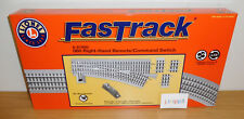 LIONEL FASTRACK 6-81950 REMOTE 0-60 O60 RIGHT HAND COMMAND SWITCH TRACK O GAUGE