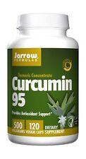 Jarrow Formulas Curcumin 95 Antioxidant Support 500 Milligrams 120 Capsules