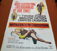Witness For The Prosecution - 1957 Classic Film Mystery Movie One Sheet Poster