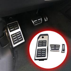 Car Pedal For Porsche Cayenne Audi Q7 Q8 19-21 Gas Brake Footrest Pad NO Drill