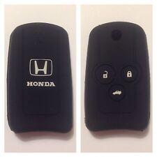 HONDA BLACK CAR FLIP KEY COVER CASE CIVIC ACCORD CR-V ODYSSEY CITY EURO FIT FOB