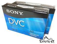 Sony DVM60PRR Premium Mini DV Minidv Camcorder Digital Video 60 min Tape 2pack