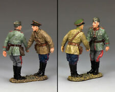 KING & COUNTRY FIELDS OF BATTLE FOB169 GERMAN MEETS RUSSIAN MIB