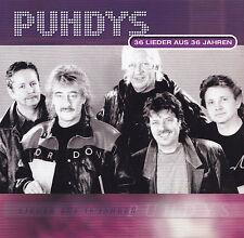 PUHDYS - 2 CD - 36 LIEDER AUS 36 JAHREN