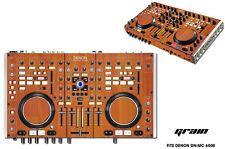 Skin Decal Wrap Denon DN MC 6000 DJ Controller Interface Pro Audio Sticker GRAIN