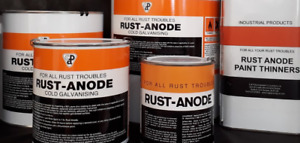 Rust-Anode The ORIGINAL 95% pure zinc cold galvanising paint 1kg-9kg