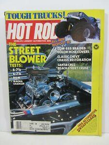 Hot Rod Magazine  -  April  1984 , Tough Trucks !  GC  (0321A)