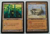 MTG Mirage Lands - Wirewood Lodge Grand Coliseum - Magic the Gathering  NM