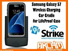 STRIKE ALPHA SAMSUNG GALAXY S7 WIRELESS CHARGING CAR CRADLE FOR LIFEPROOF CASE