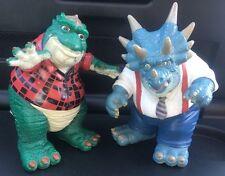 Disneys dinosaurios años 90 TV Show de figuras de acción X2 Earl & señor Sinclair Rara Vintage