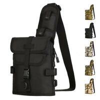 Small Tactical Military Daypack Sling Chest Pack Bag Molle Backpack Shoulder Bag