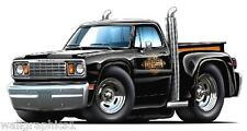 1978 Dodge Truck LIL RED EXPRESS PIckup Wall Decal Sticker Graphic Home Decor