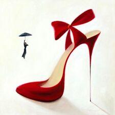 Inna Panasenko: Highheels Obsession Fertig-Bild 30x30 Wandbild Kult Pop