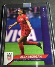 2019 Panini Instant Alex Morgan 5 Goal Game 1 Of 67 USWNT Rare