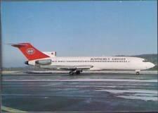 (vsa) Airplane Postcard: Bosphorus Airways, Boeing 727-230