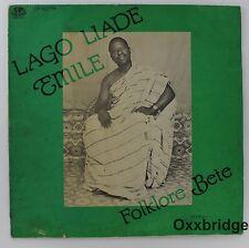 LAGO LIADE EMILE Folklore Bete NEAR MINT VINYL Afro Funk Ivory Coast African LP