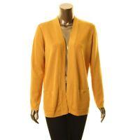 ANNE KLEIN Women's Open Front Pocket Cardigan Sweater Top TEDO