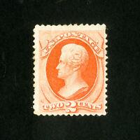 US Stamps # 183 F-VF OG H Scott Value $100.00