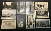 G. Lot Over 10 Black & White Vintage Post Cards