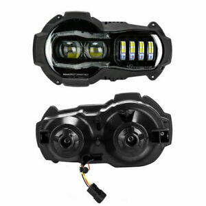 LED Headlight Daymaker BMW R 1200 GS + Adv. with E Approval