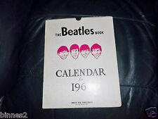 THE BEATLES BOOK ORIGINAL CALENDAR FOR 1964 COMPLETE LOVELY CONDITION FAB !