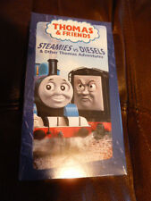 Thomas the Tank Engine Steamies vs. Diesels VHS Movie Sealed New Unopened