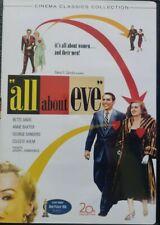All About Eve (Dvd 2003 B&W Cinema Classics) 1950 Bette Davis Anne Baxter Vgc