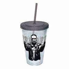 The Punisher Guns Drawn Acrylic 16 oz. Travel Cup NEW Travel Mug Comic