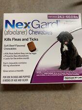 New listing Chewable Flea & Tick Preventative 24-60 Pounds Dog 6 Month Box