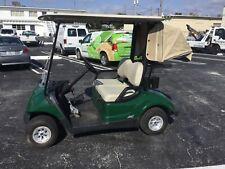 Green 2016 Yamaha G29 YDREX6 AC drive Dre 2 seat passenger 48 volt 48v Golf Cart