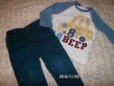 süßes Baby Paket Hose + Shirt Gr 80 Next & H&M,  anschauen!!