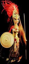 Athena ~ Greek Goddess of Wisdom & Battle ~Barbie doll OOAK Mythology