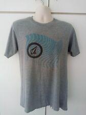 New listing Volcom Grey T Shirt Medium Size M Skateboard Skateboarding