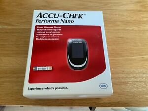 accu-chek performa nano blood glucose monitor brand new in box