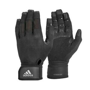 Adidas Ultimate Training Gloves Weight Lifting Gym Workout Fitness Wrist Wrap