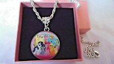 MY LITTLE PONY FREIND SHIP IS MAGIC STRONG CHAIN 16 INCH GIFT BOX BIRTHDAY PARTY