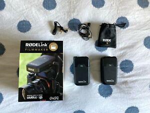 Rode RODElink Filmmaker Kit - Black