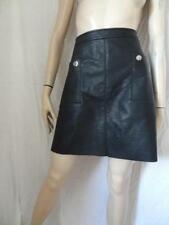 Leather 16 Size Skirts for Women