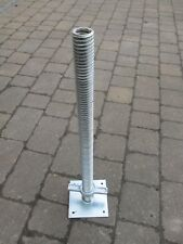 HEAVY DUTY ADJUSTABLE BASE PLATES SCAFFOLD TOWER X8