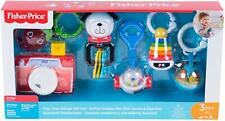 Fisher Price Tiny Take-Alongs Gift Set Teether Rattle Crinkle Camera 0+