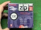 Iomega Zip 100 3-Pack Disks - New /Sealed In Pack Great For Older Model Computer