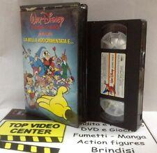 Walt Disney Presenta La Bella Addormentata e ... VHS versione noleggio