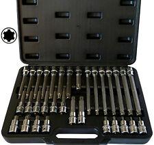 "32tlg RIBE, Keilnut (+15%) 1/2"" Steckschlüsseleinsätze, M5-M14 Bitsatz Werkzeug"